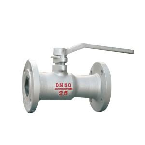 Flange high temperature valve