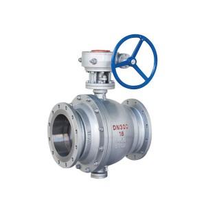 GB cast steel fixed ball valve