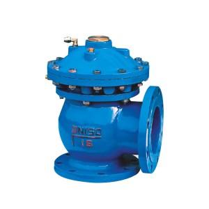 Jm7 / 644x quick opening sludge discharge valve