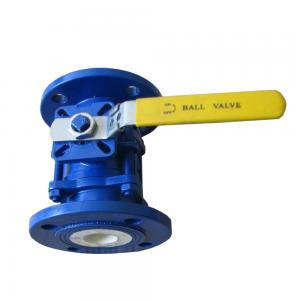 Manual ceramic ball valve