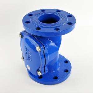 Rubber flap check valve