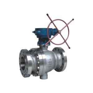 American standard cast steel fixed ball valve