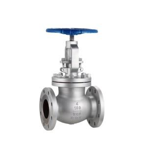 American standard cast steel globe valve