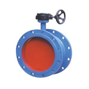 Ventilation butterfly valve