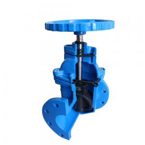 German standard F5 soft seal gate valve