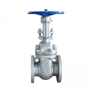 Dz41w stainless steel low temperature gate valve