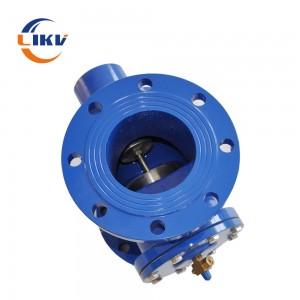 flange globe valve