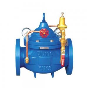 200X pressure reducing and stabilizing valve