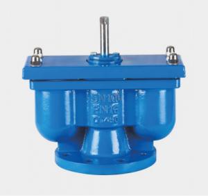 Qb2 flange double port exhaust valve
