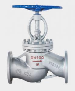 J41H / Y flange globe valve