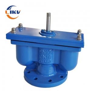 double exhaust valve