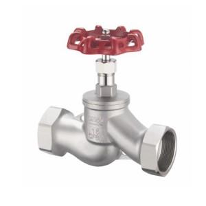 J11W stainless steel internal thread globe valve