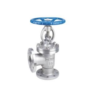 J44h / y angle flange globe valve