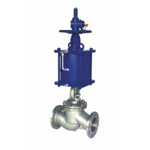 J641h pneumatic flange globe valve