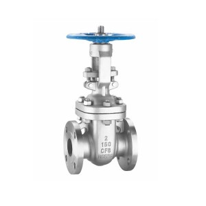 Z41w flange stainless steel gate valve
