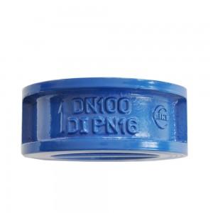 dual-disc check valve