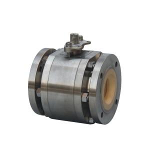 Forged steel ceramic ball valve
