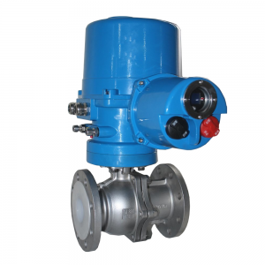 Electric Lining Fluorine Ball Valve